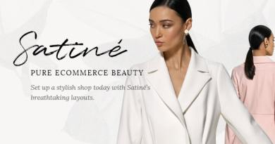 Satiné - Fashion and Clothing Shop Theme 4