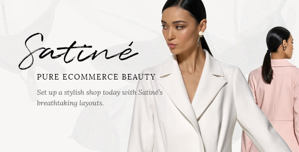 Satiné - Fashion and Clothing Shop Theme 6
