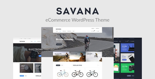 Savana - Multi Concept WooCommerce WordPress Theme for eCommerce 1