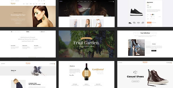 Scara - Multipurpose WooCommerce Theme for Online Store 1
