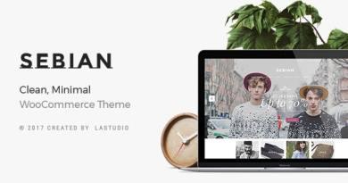 Sebian - Multi-purpose WordPress WooCommerce Theme 4