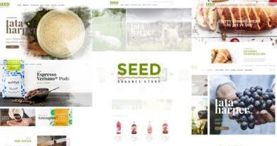 Seed - Organic WordPress Theme 54