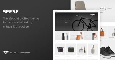 Seese - Responsive eCommerce Theme 3