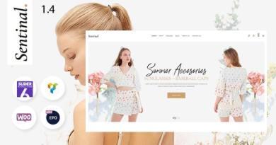Sentinal - Fashion Modern Shop WooCommerce Theme 4