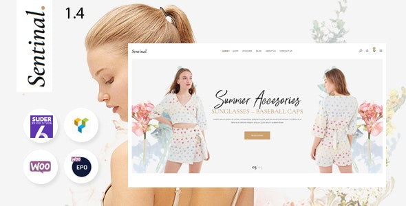 Sentinal - Fashion Modern Shop WooCommerce Theme 6