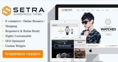 Setra WooCommerce WordPress Theme 4