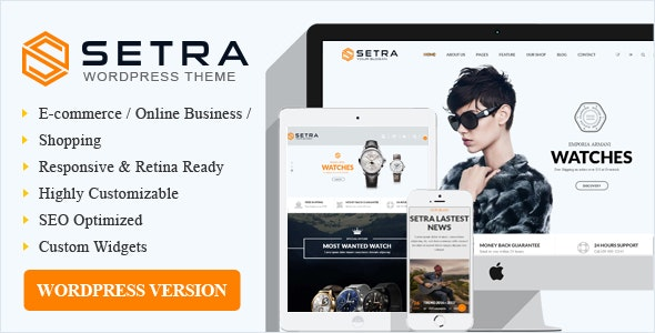 Setra WooCommerce WordPress Theme 2
