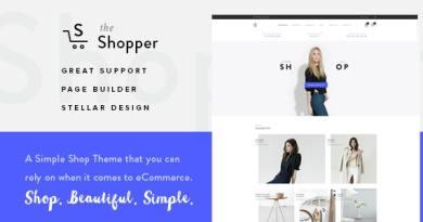 Shopper - Responsive WooCommerce Theme 4