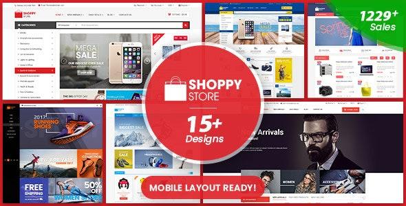 ShoppyStore - Multipurpose Responsive WooCommerce WordPress Theme (15+ Homepages & 3 Mobile Layouts) 1