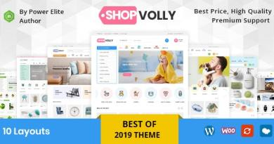 ShopVolly - Multipurpose WooCommerce Theme 2