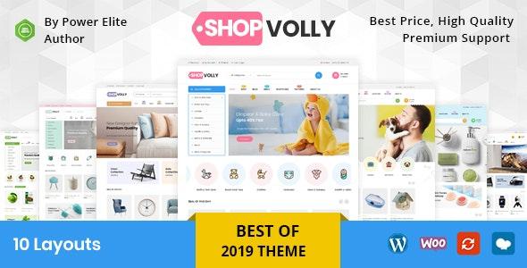 ShopVolly - Multipurpose WooCommerce Theme 1