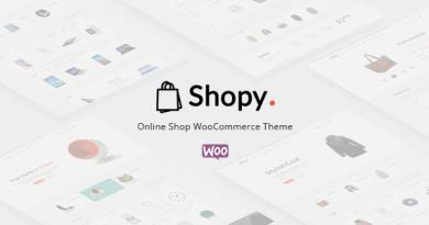 Shopy - Ecommerce WordPress Theme 2