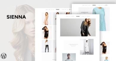 Sienna - Fashion WooCommerce WordPress Theme 4