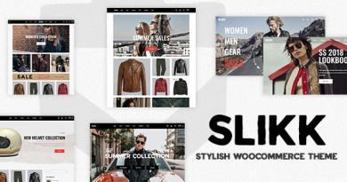 Slikk - A Stylish WooCommerce Theme 2
