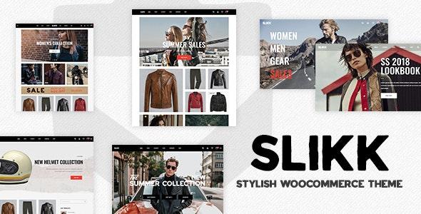 Slikk - A Stylish WooCommerce Theme 13