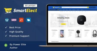 SmartElect - Multipurpose WooCommerce Theme 2