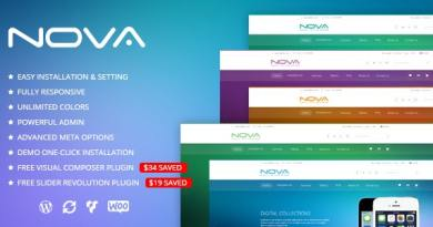 SNS Nova - Digital Store WordPress Theme 9
