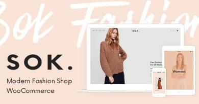 Sok - Modern Fashion Shop 2
