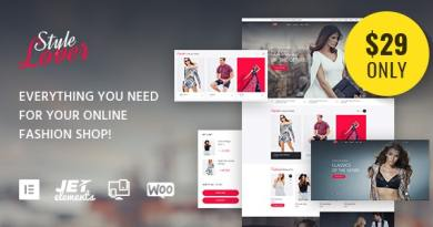 SolosShopy - Fashion Shop Elementor WooCommerce Theme 2