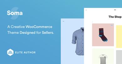 Soma - Creative WooCommerce Theme 3