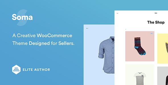 Soma - Creative WooCommerce Theme 1