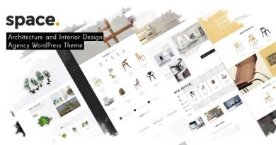 Space - Interior Architecture Furniture WooComerce WordPress Theme 4