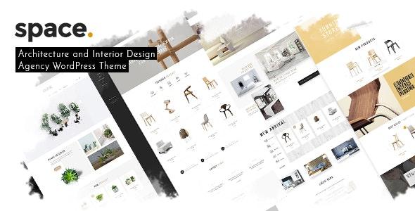 Space - Interior Architecture Furniture WooComerce WordPress Theme 1