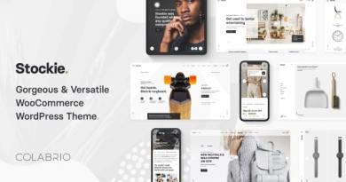Stockie - Modern Multi-Purpose WooCommerce Theme 7