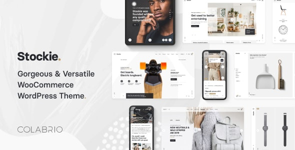 Stockie - Modern Multi-Purpose WooCommerce Theme 1