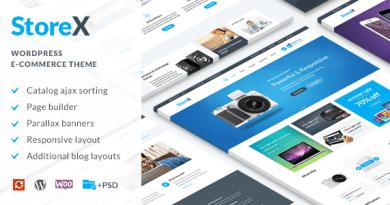 StoreX - WordPress WooCommerce Electronics Theme 2