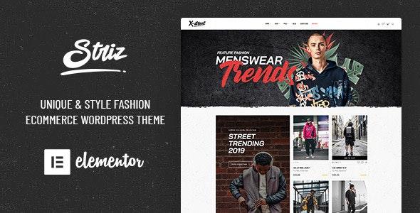 Striz - Fashion Ecommerce WordPress Theme 13