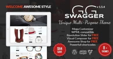 SWAGGER - Unique Multi-Purpose WordPress Theme 4