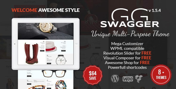 SWAGGER - Unique Multi-Purpose WordPress Theme 6