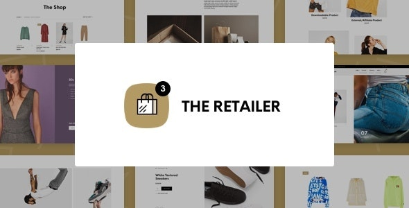 The Retailer - eCommerce WordPress Theme for WooCommerce 1