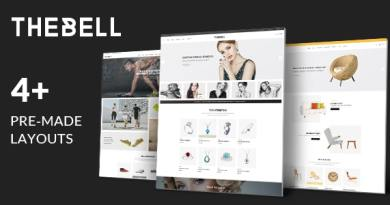 Thebell - Multipurpose Responsive WordPress Theme 4