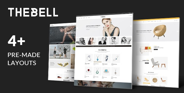 Thebell - Multipurpose Responsive WordPress Theme 25