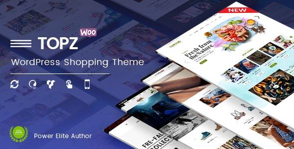 TopZ - Top Food Store & Sport Fashion Shop WordPress WooCommerce Theme 1