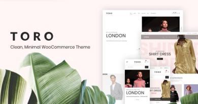 Toro - Clean, Minimal WooCommerce Theme 3