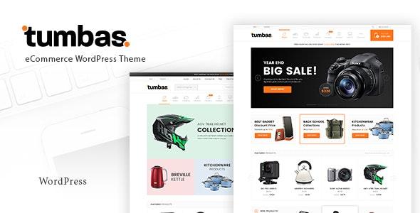 Tumbas - Responsive Woocommerce WordPress Theme 1