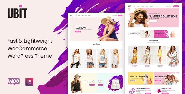 Ubit - Fashion Store WooCommerce Theme 1