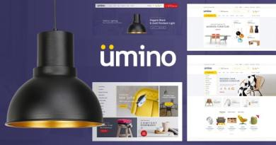 Umino - Furniture & Interior for WooCommerce WordPress 4