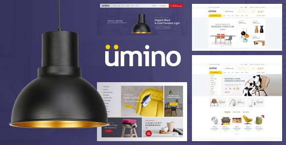 Umino - Furniture & Interior for WooCommerce WordPress 1