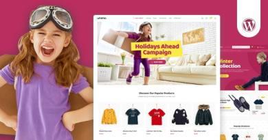 Uneno - Kids Clothing & Toys Store WooCommerce Theme 2