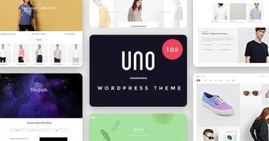 UNO - Multi Store Responsive WordPress Theme 3