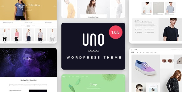 UNO - Multi Store Responsive WordPress Theme 1