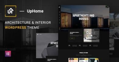 UpHome - Modern Architecture WordPress Theme 3