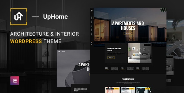 UpHome - Modern Architecture WordPress Theme 1