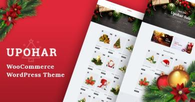 Upohar - Christmas WooCommerce WordPress Theme 4