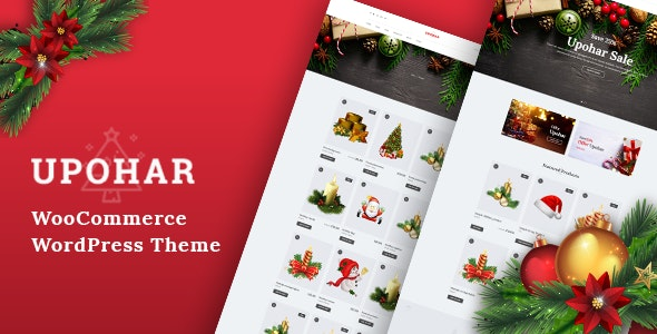 Upohar - Christmas WooCommerce WordPress Theme 3