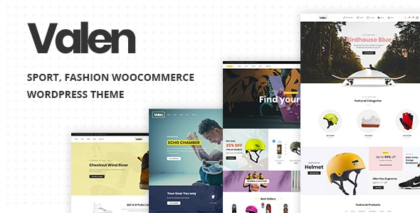 Valen - Sport, Fashion WooCommerce WordPress Theme 4